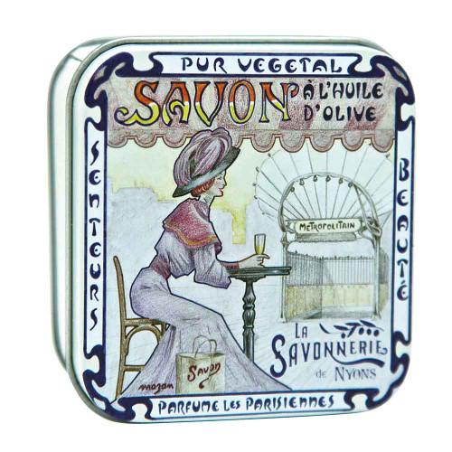 La Savonnerie de Nyons Square Tin Metropolitain 100g/3.52oz