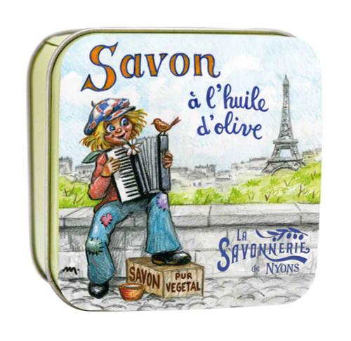 La Savonnerie de Nyons Square Tin Gavroche 100g/3.52oz