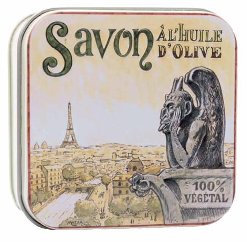 La Savonnerie de Nyons Square Tin Notre Dame 100g/3.52oz