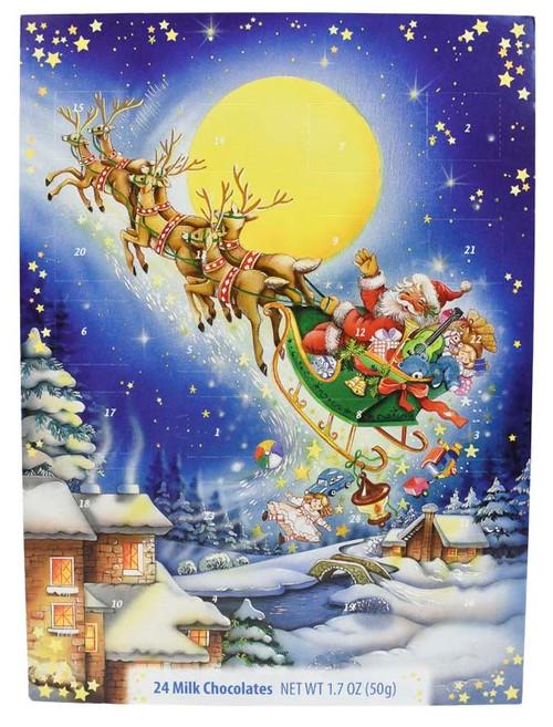 Windel Advent Calendar Santa Sleigh