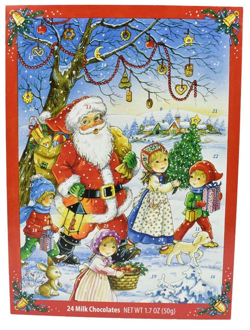 Windel Advent Calendar Santa