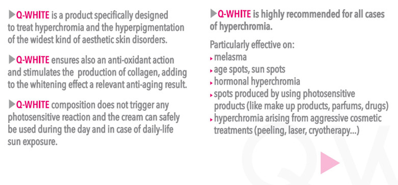 Dark Mark Removing Gel - Q-White Skin Whitening