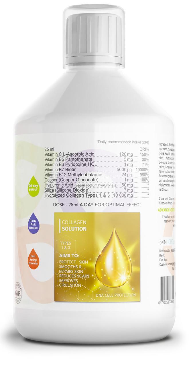 Collagen Drink For  Scars, Wrinkles & Damaged skin.