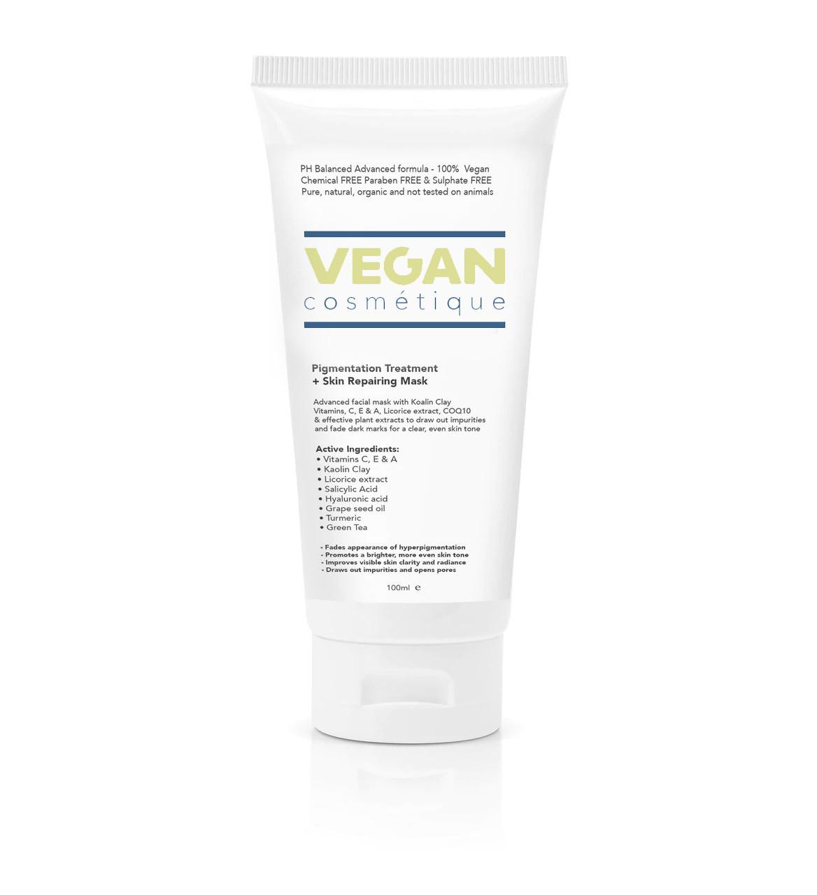 Vegan Cosmetics - Pigmentation Treatment + Skin Repairing Mask