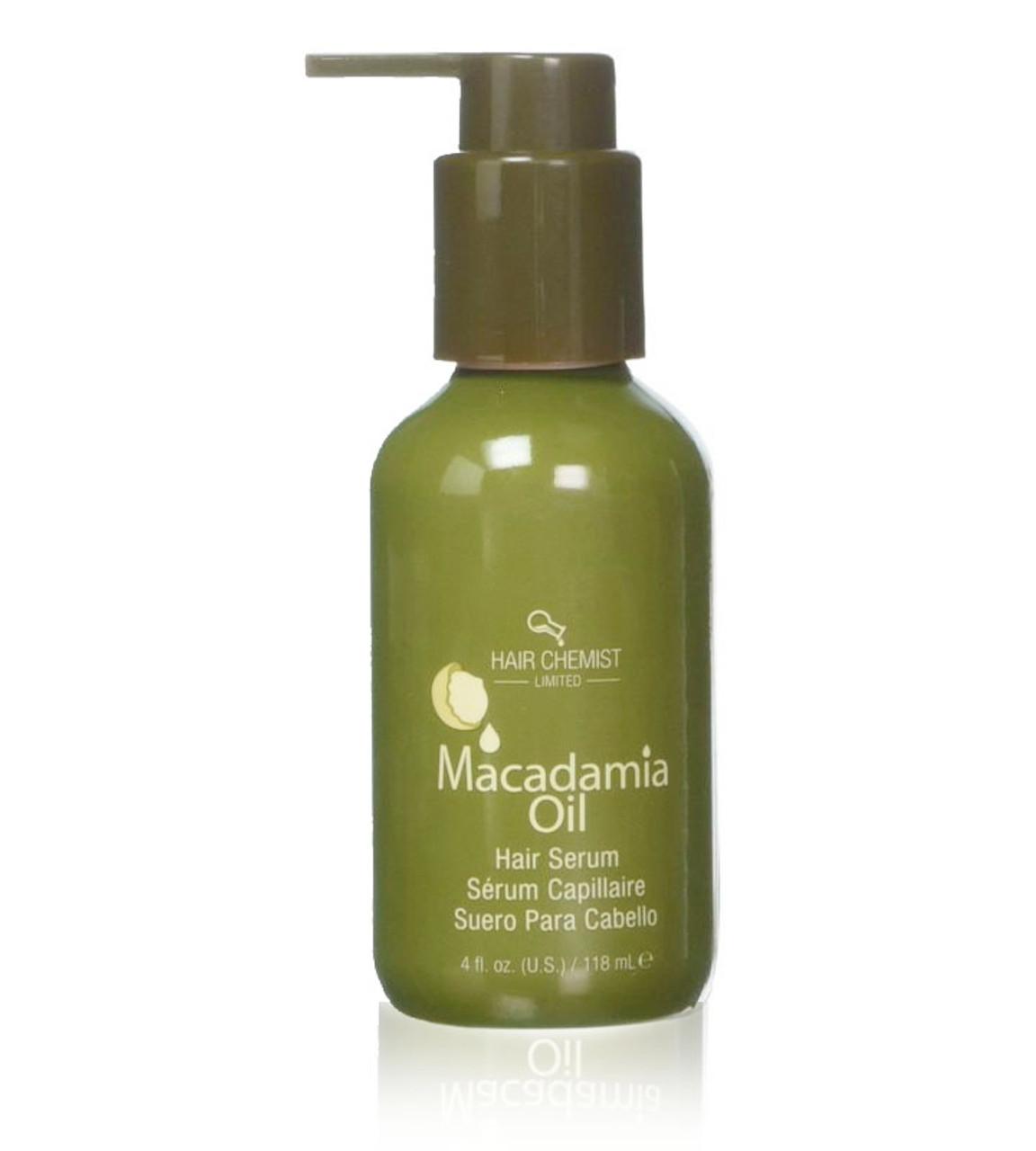 Macadamia Oil Hair Serum For Shiny Silky Hair