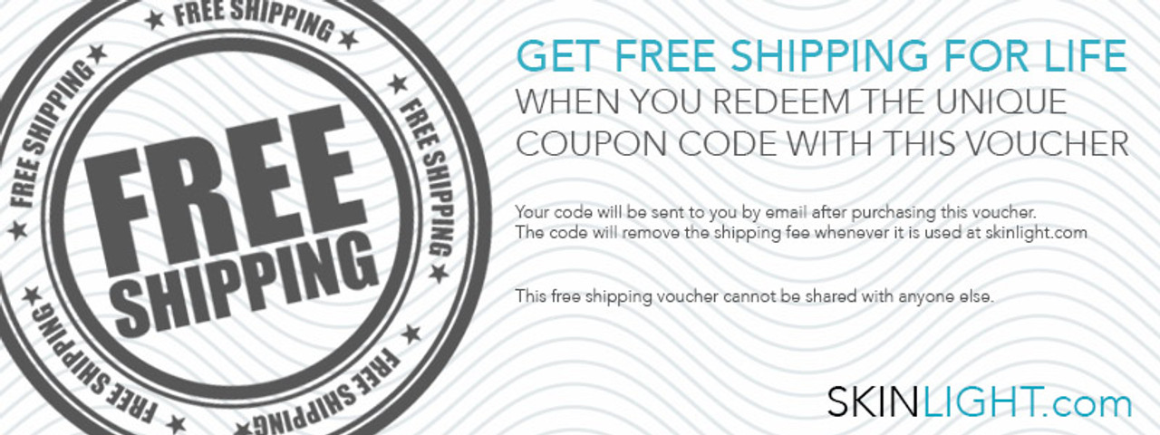 LIFETIME FREE SHIPPING VOUCHER