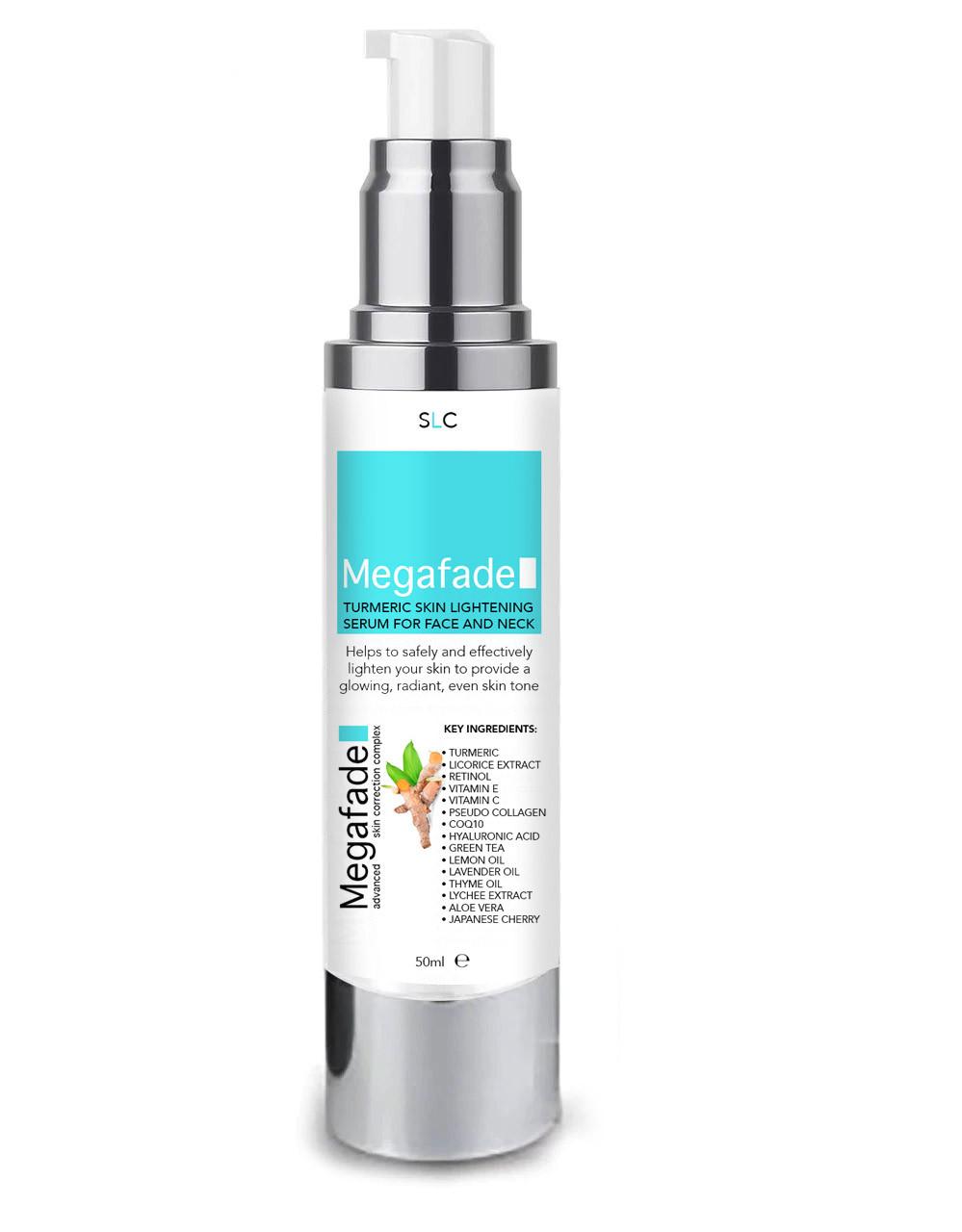 6 X  Skin Lightening Serum With Turmeric & Licorice Extract