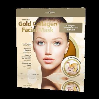 24k Gold Collagen Face Mask for Uneven Skin