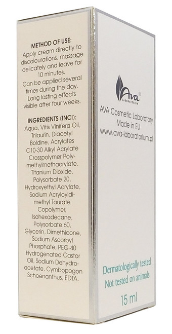 Active Whitening Discolouration Point Cream