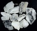 """White Clear Calcite Rock from Mexico 1.5-2.5"""" avg 1 LB lot Wholesale Bulk (RRCAOW-16)"""