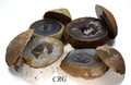 Agate Geode top/bottom pair Box  Mega ( 80-90 oz. )