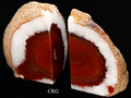 Red Agate Bookends from Brazil (ABOOK-RE)