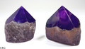 Top Polished Agate Point- Purple (TPP1-PR)