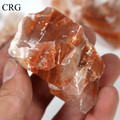 Reddish Calcite Rock from Mexico