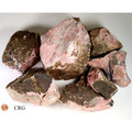 Extra Large Rough Rhodonite 10-20 cm avg 10 Kilo lot (RRRHXL-10K)