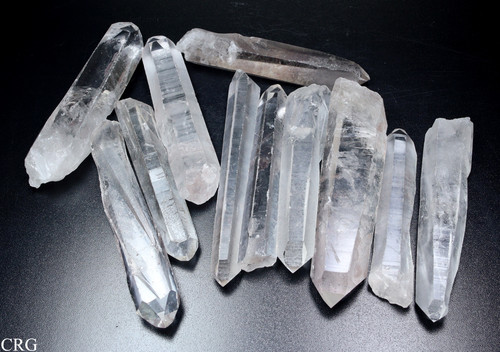 Lemurian Lazer Crystal Points Medium 6-10 cm avg