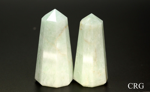 "Amazonite Thick Point 2.5"" avg (TP14DG)"