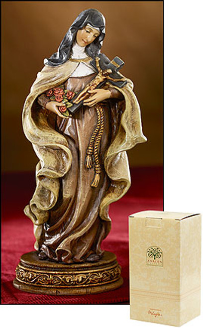 "6"" St. Theresa of Lisieux Statue 