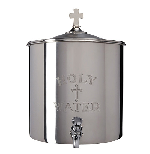 5 Gallon Holy Water Reservoir | Stainless Steel