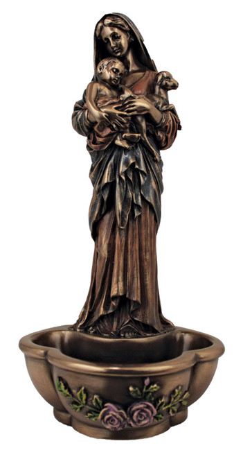 "7.5"" L'Innocence Holy Water Font 