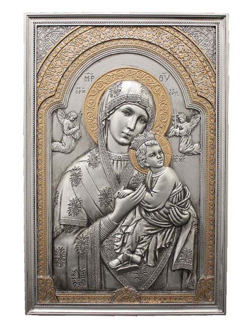 """6"""" x 9"""" Our Lady of Perpetual Help Plaque 