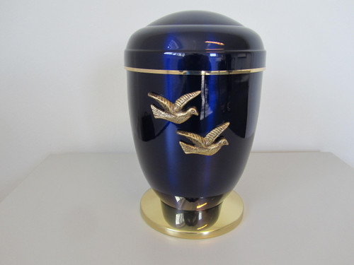 "11 1/2"" Dove Memorial Urn | Copper"