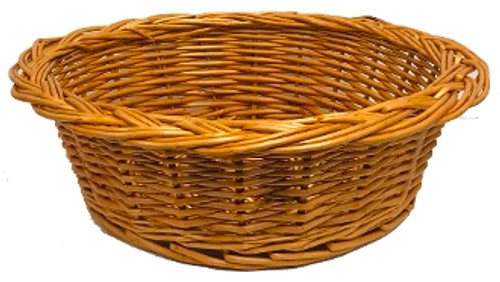 "4"" Deep Collection Basket | Round | No Handle"