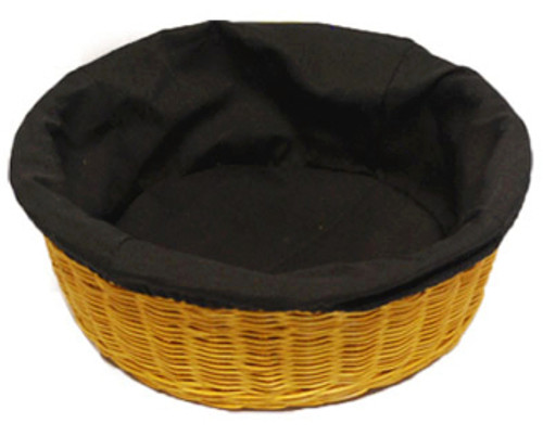 "4"" Deep Round Collection Basket Liners 