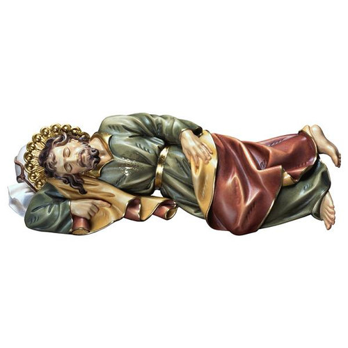 Sleeping St. Joseph Statue | Hand Carved in Italy | Multiple Sizes