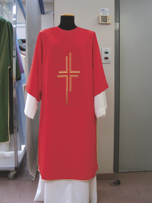 #651 Lightweight Contemporary Cross Dalmatic | 100% Poly | All Colors