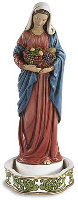 "8"" Kitchen Madonna Rosary Holder   Resin"