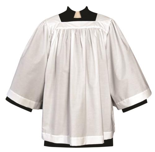 #180X Soft Plain Surplice | Poly/Combed Cotton