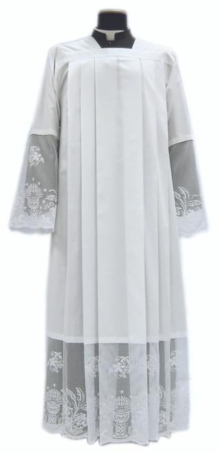 #071 Eucharist Lace Alb | Pullover | Mixed Cotton