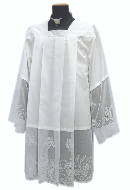 #971 Eucharist Lace Surplice | Mixed Cotton