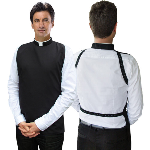 Slabbinck Tonsure Collar Shirtfront/Rabat | Poly/Cotton | All Sizes