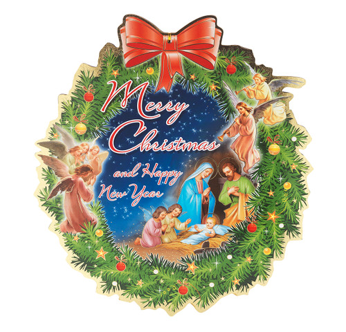 Christmas and New Year Plaque