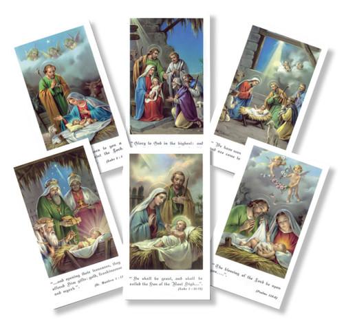 Bethlehem Series Holy Cards
