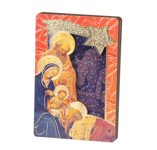 Renaissance Nativity Plaque | Pack of 5