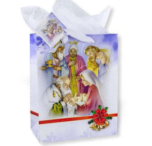 Holy Family with Kings Medium Gift Bag