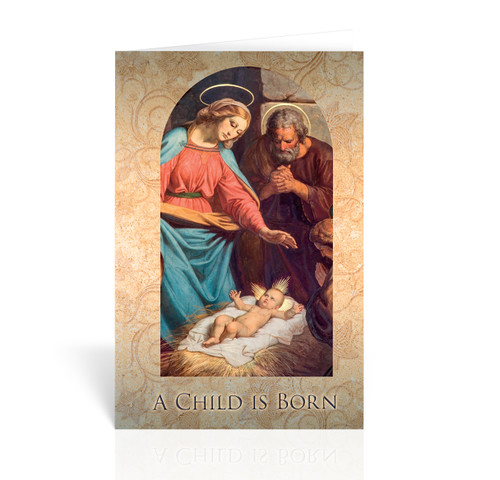 Holy Family: A Child is Born Christmas Cards | Box of 10
