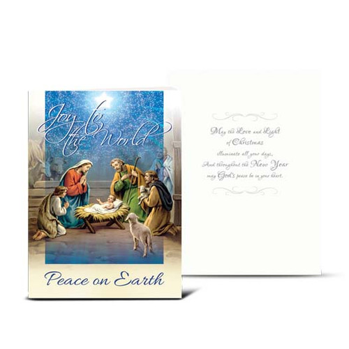 Holy Family Nativity Christmas Cards | Box of 10