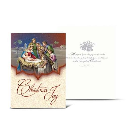 Christmas Joy Nativity Christmas Cards | Box of 10
