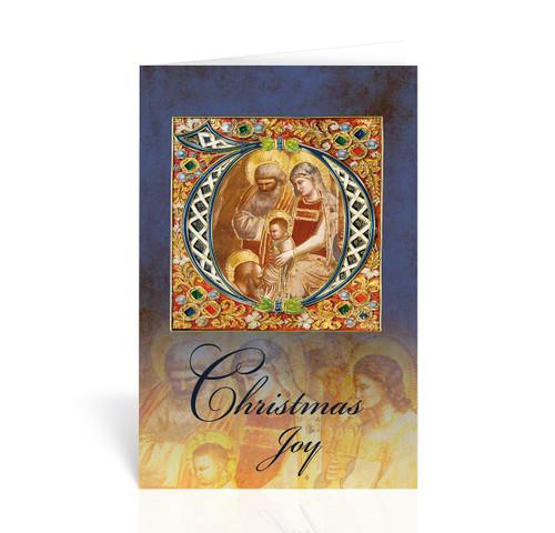 Holy Family Christmas Joy Christmas Cards | Box of 10