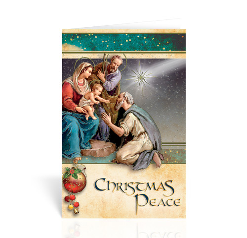 Holy Family with Shepherd Christmas Cards | Box of 10