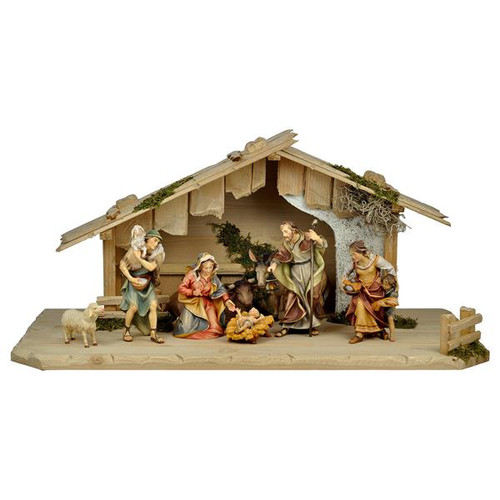 10-Piece Ulrich Nativity Set | Hand Carved in Italy | Multiple Sizes