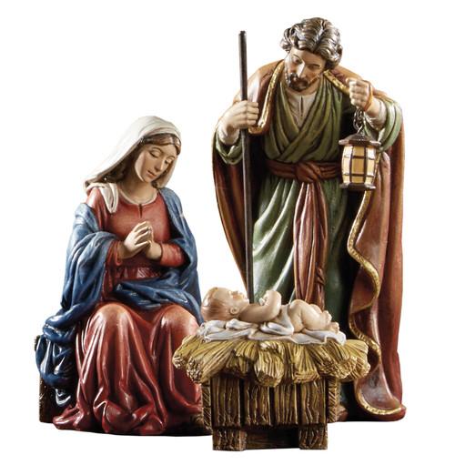 "5"" Nativity Set | 3 Pieces | Stone Resin"