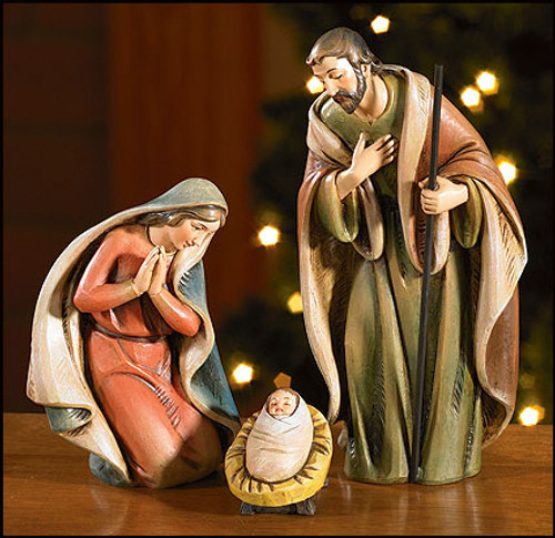 "6.5"" Milagros Nativity Set 