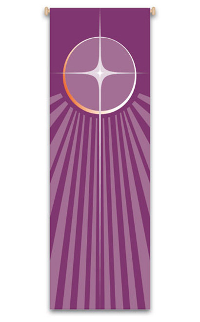 Advent Christmas Star Banner