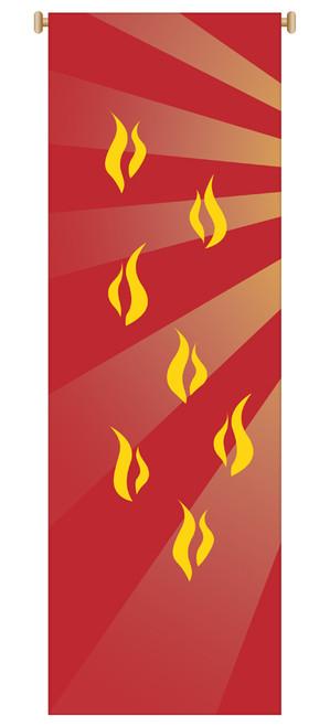 Holy Spirit Flames Banner | Part 1