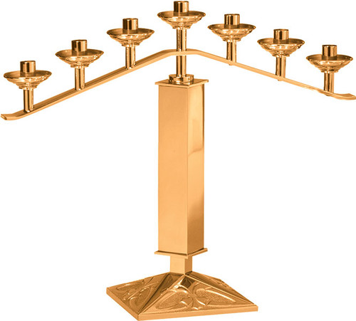 #200 Fixed Altar Candelabra | Multiple Material & Finishes Available